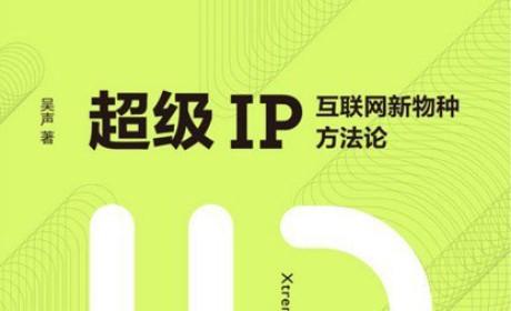《超级IP:互联网新物种方法论》吴声 PDF电子书下载