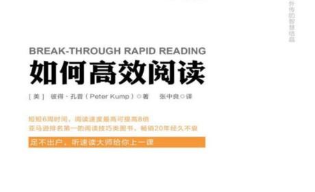 《如何高效阅读》彼得•孔普PDF电子书下载