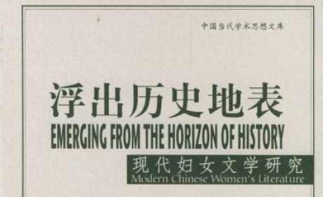 《浮出历史地表:现代妇女文学研究》PDF 电子书下载