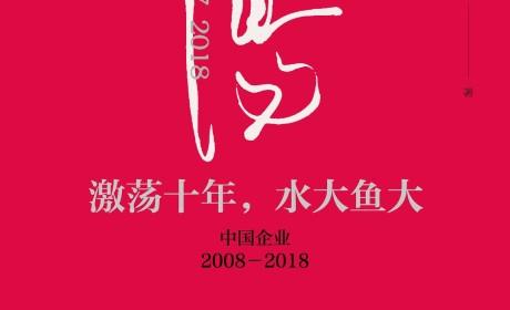 《激荡十年,水大鱼大 : 中国企业2008—2018》