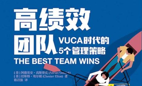 《高绩效团队:VUCA时代的5个管理法则》