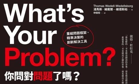 《你問對問題了嗎?:重組問題框架、精準決策的創新解決工具》