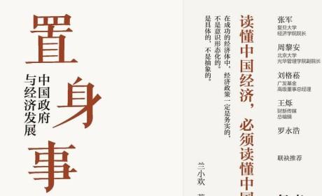 《置身事内:中国政府与经济发展》