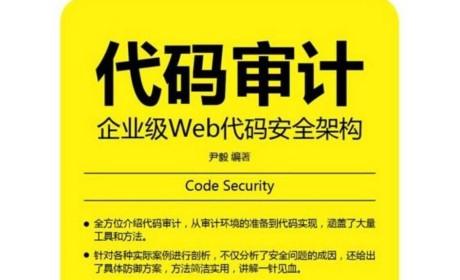 《代码审计:企业级Web代码安全架构》